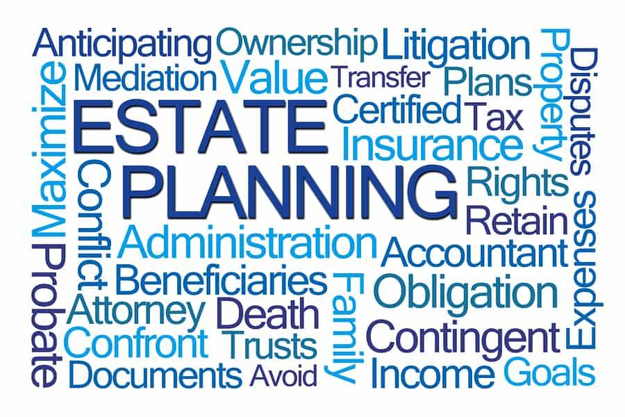 bigstock Estate Planning Word Cloud on 105601580 #1 Best Trust Administration Attorney Orange County, CA | Hess-Verdon