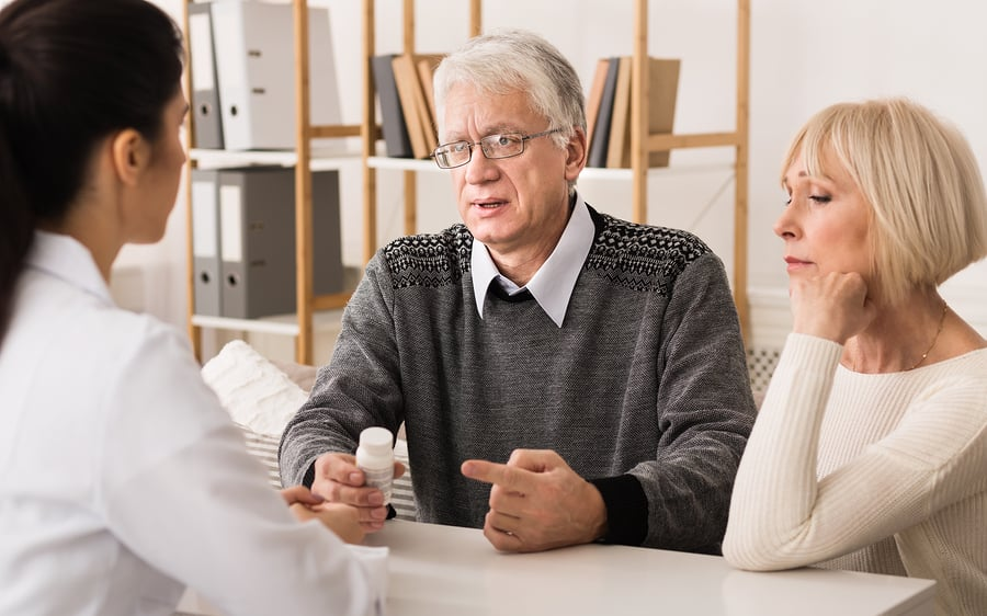 bigstock Nurse Explaining Pescription M 280004650 Probate Litigation Attorney   #1 Best Probate Lawyers