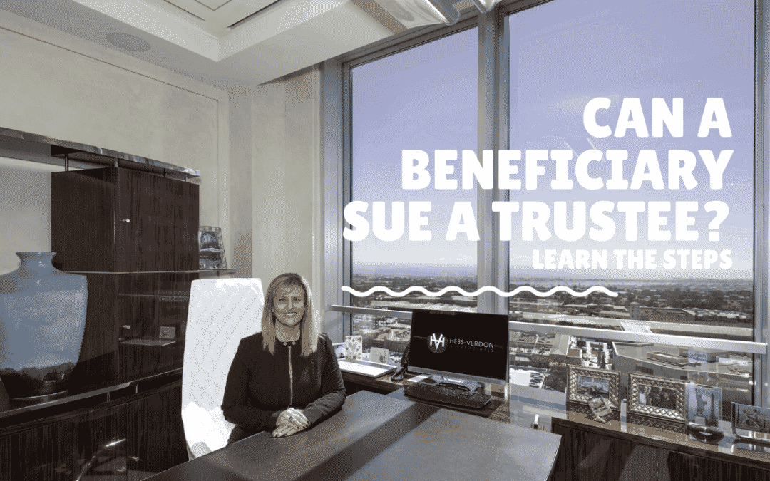 Beneficiary Suing the Trustee of a Trust for Mishandling!